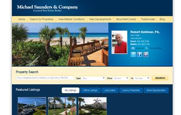 Robert Goldman, Michael Saunders Company